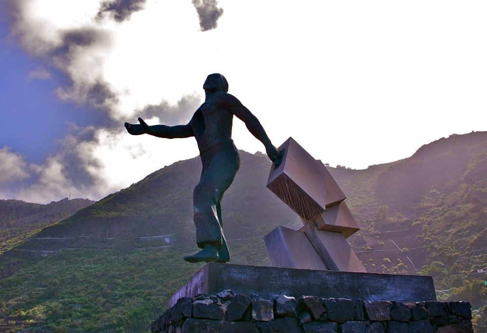 Garachico statue