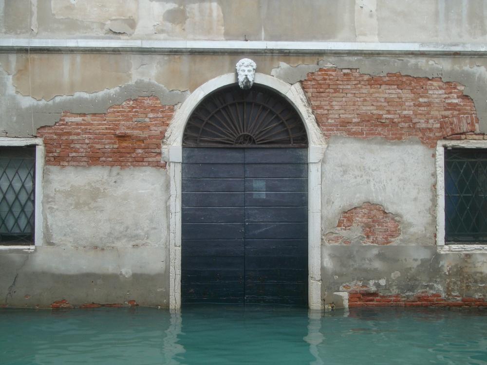 Canal-side doorway