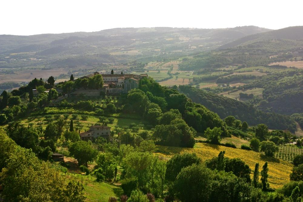Tuscan hilltop