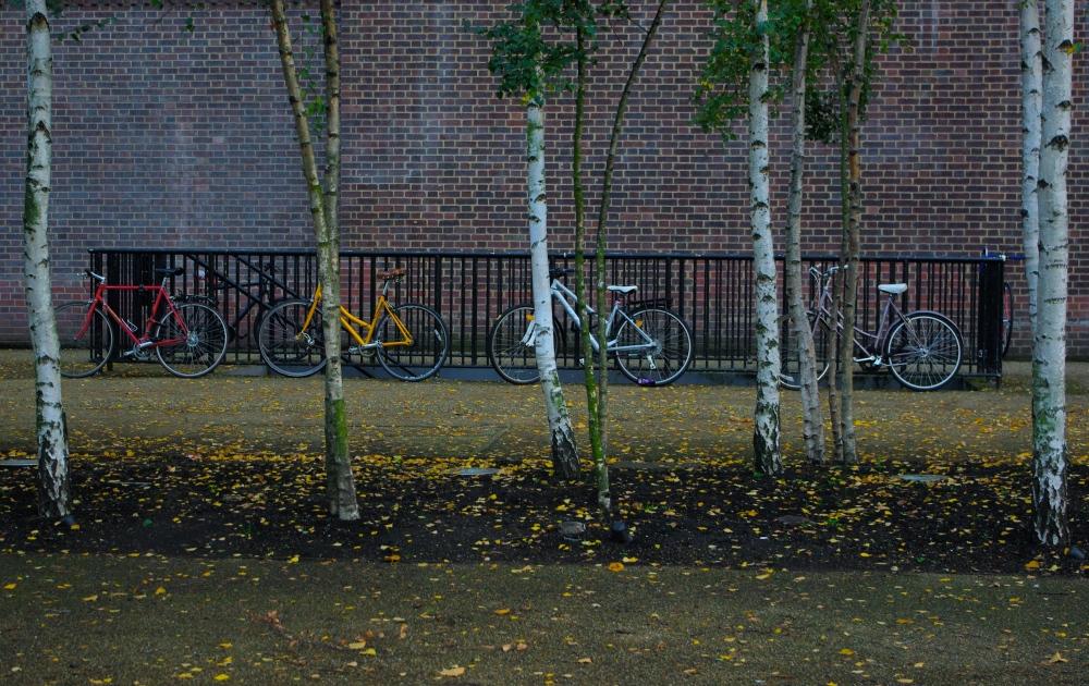 Coloured bikes