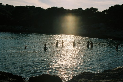 Menorcan bathers