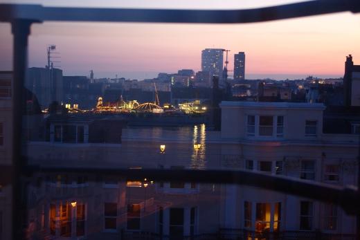 Brighton at night