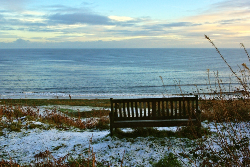 Alnmouth in the snow