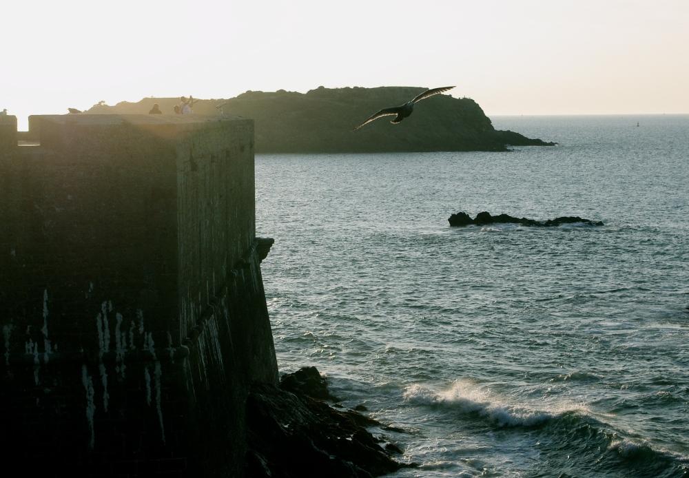 N Brittany coast